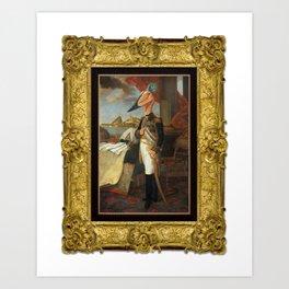 Framed Tyrant Tupuxuara Art Print