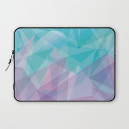 Stained Glass - Blue Purple Laptop Sleeve