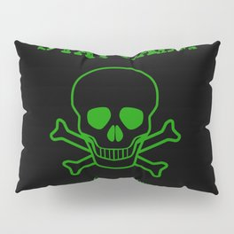 Stay Calm Pirate Flag Pillow Sham