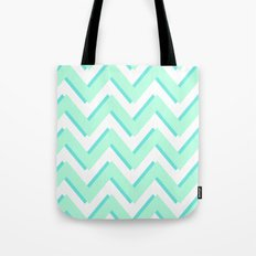 3D CHEVRON Tote Bag