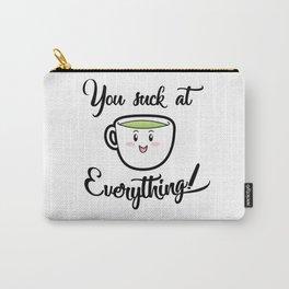 A little tea time wisdom Carry-All Pouch