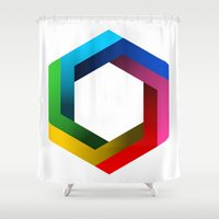 psychology Shower Curtains featuring Bequiz by Bequiz