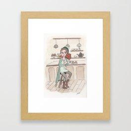 Coffee Love! Framed Art Print