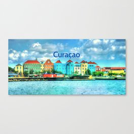 A trip to Willemstad Curacao Canvas Print