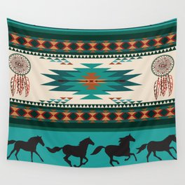 American Native Pattern No. 156 Wall Tapestry