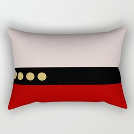 Picard -Minimalist Star Trek TNG The Next Generation  Captain Jean Luc Picard startrek Trektangles Rectangular Pillow