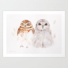 Hugo and... Art Print