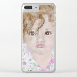 Harper Clear iPhone Case