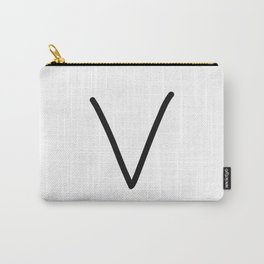 V LOVE Carry-All Pouch