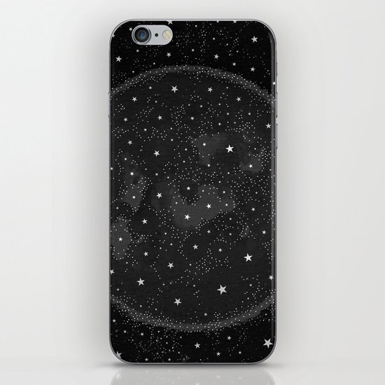 Starry Boho Moons iPhone & iPod Skin