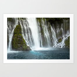 McArthur-Burney Falls Art Print
