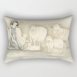 A Black Sheep Rectangular Pillow