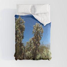 Jumping Cholla Cactus Comforters