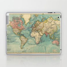 Adventure Awaits (World Map) Laptop & iPad Skin