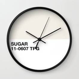 sugar Wall Clock