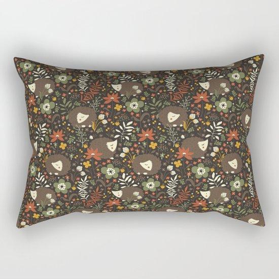 Cute Hedgehogs Rectangular Pillow