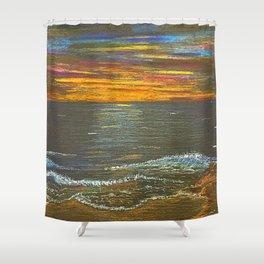 Sun Ripened Sand Shower Curtain