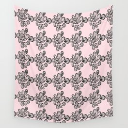 Soft pink ornament Wall Tapestry