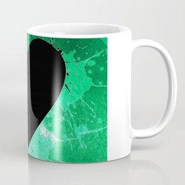 Elegant watercolor splash heart Coffee Mug