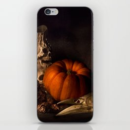 Halloween Still Life iPhone Skin