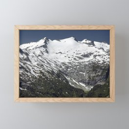 Mount Daniel Face to Face Framed Mini Art Print
