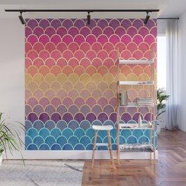 Watercolor Lovely Pattern VVIV Wall Mural