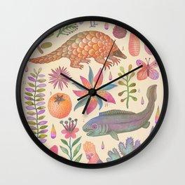 Et coloris natura VIII Wall Clock