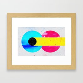 CMYK Framed Art Print