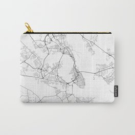 Charleston South Carolina Street Map Carry-All Pouch
