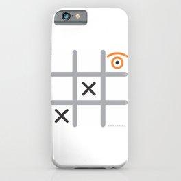 tic eye toe iPhone Case