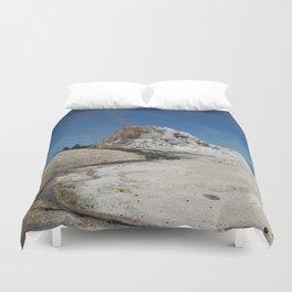 White Dome Duvet Cover