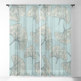 Ginko Sheer Curtain