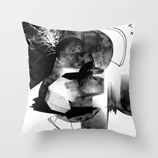 Moonscan Throw Pillow