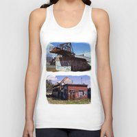 western Tank Tops featuring Western Power by Vladnev