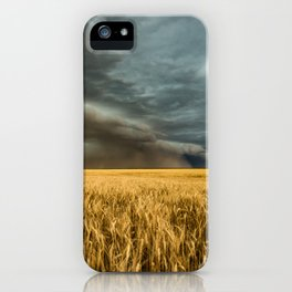 Earth Mover - Storm Advances Across Great Plains in Colorado iPhone Case