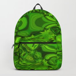 Greeny pattern Backpack