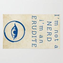 NERD? ERUDITE - DIVERGENT Rug