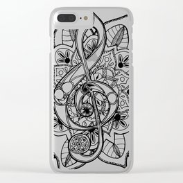 Music Of Life Clear iPhone Case