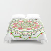 holiday Duvet Covers featuring Holiday by Katie Duker