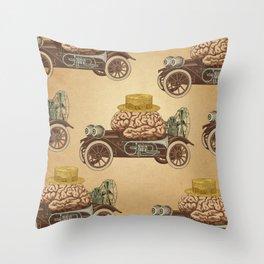 Intelligent Car Throw Pillow