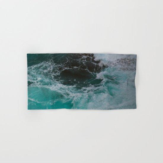 Big Sur Waves Hand & Bath Towel