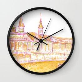Churchill Downs Wall Clock