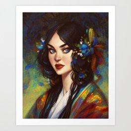 Xia Art Print