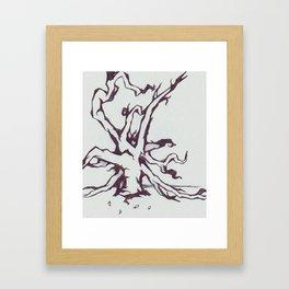 Tree of Jealousy Framed Art Print