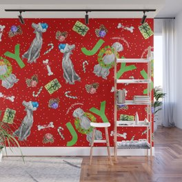 WEIM CHRISTMAS JOY Wall Mural