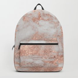 Martino rose gold marble Backpack