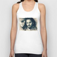 johnny depp Tank Tops featuring Johnny Depp II. by Thubakabra
