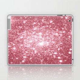 Pink Sparkle Stars Laptop & iPad Skin