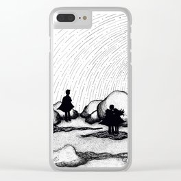 Selkie Beach Clear iPhone Case