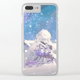 Magic Winter Clear iPhone Case